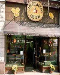 Cedar Egg Factory Store in Marietta Ohio in 1992