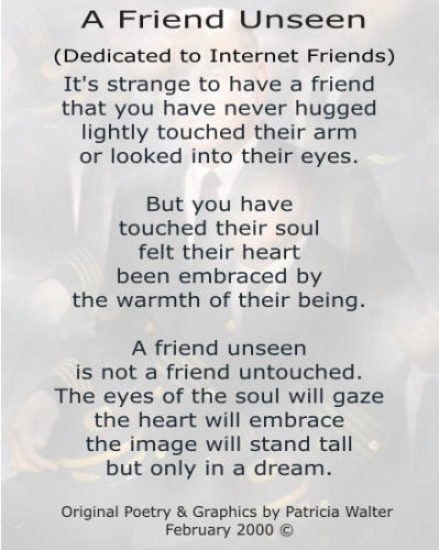 Friends Poetry 1 by Patricia Walter - DesiRulez.ME